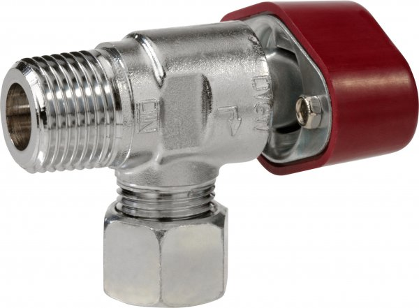 Schnellschluss-Eckventil Typ V